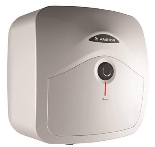 Elektrinis vandens šildytuvas ARISTON ANDRIS RS 10/3 EU virš plautuvės