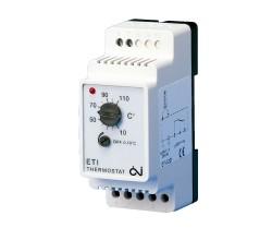 Termostatas ETI-1221 be jutiklio, 16A, DIN, +10…+110 °C