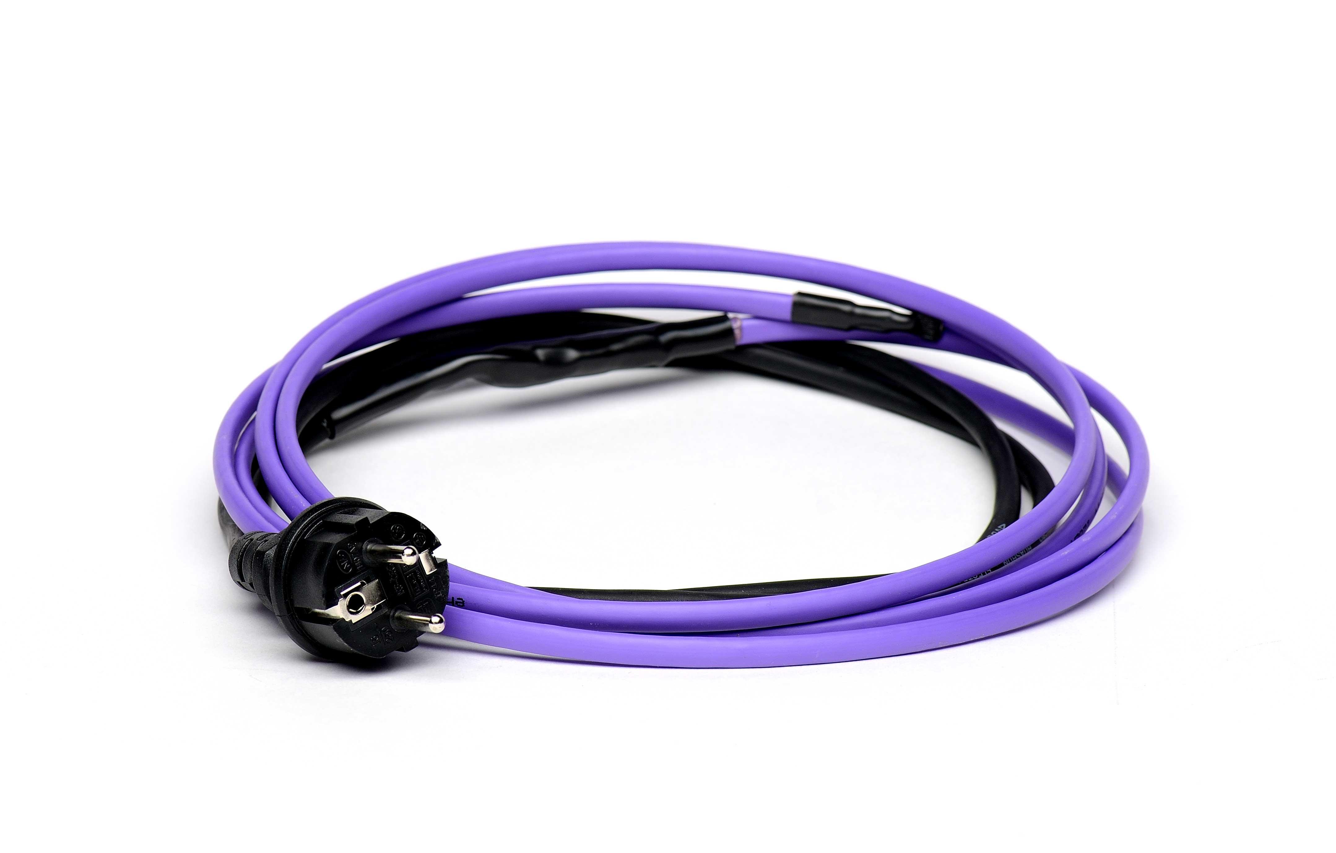 Savireguliuojantis šildymo kabelis pipeheat 10 (su kištuku), 5 m