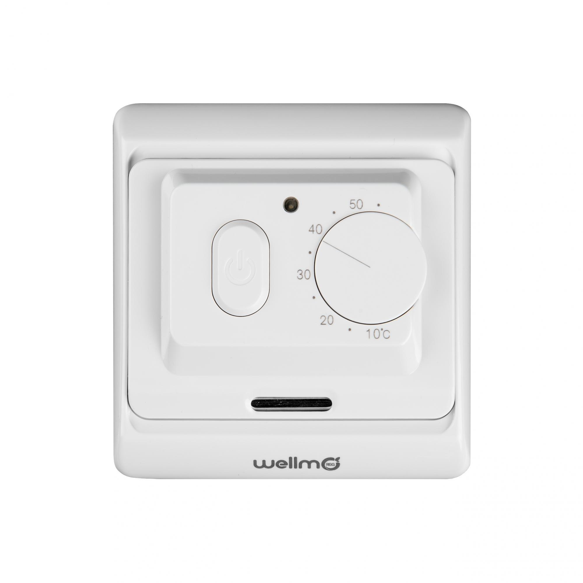 Elektromechaninis termostatas Wellmo WTH71.36, 16 A