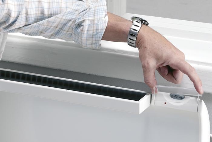 GLAMOX heating termostatų ET/EV/DT dangtelis