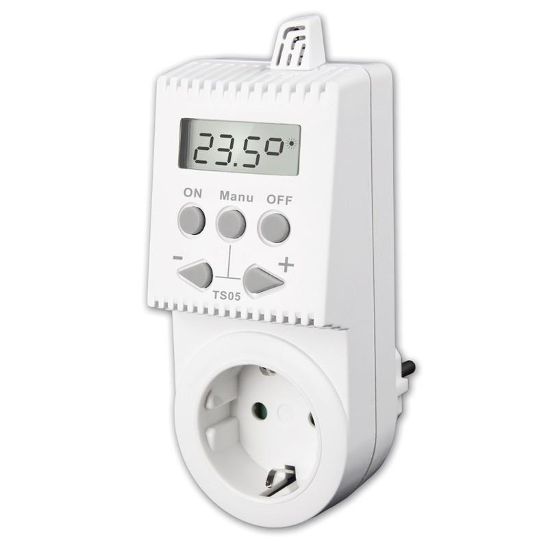 Kištukinis termostatas TS05