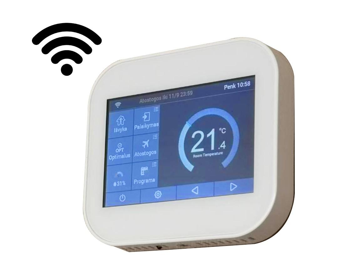 Programuojamas termoreguliatorius Wellmo MC06 su WiFi funkcija